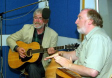 Radio Shropshire Folk on Sunday. Photo credit: Andy Price
